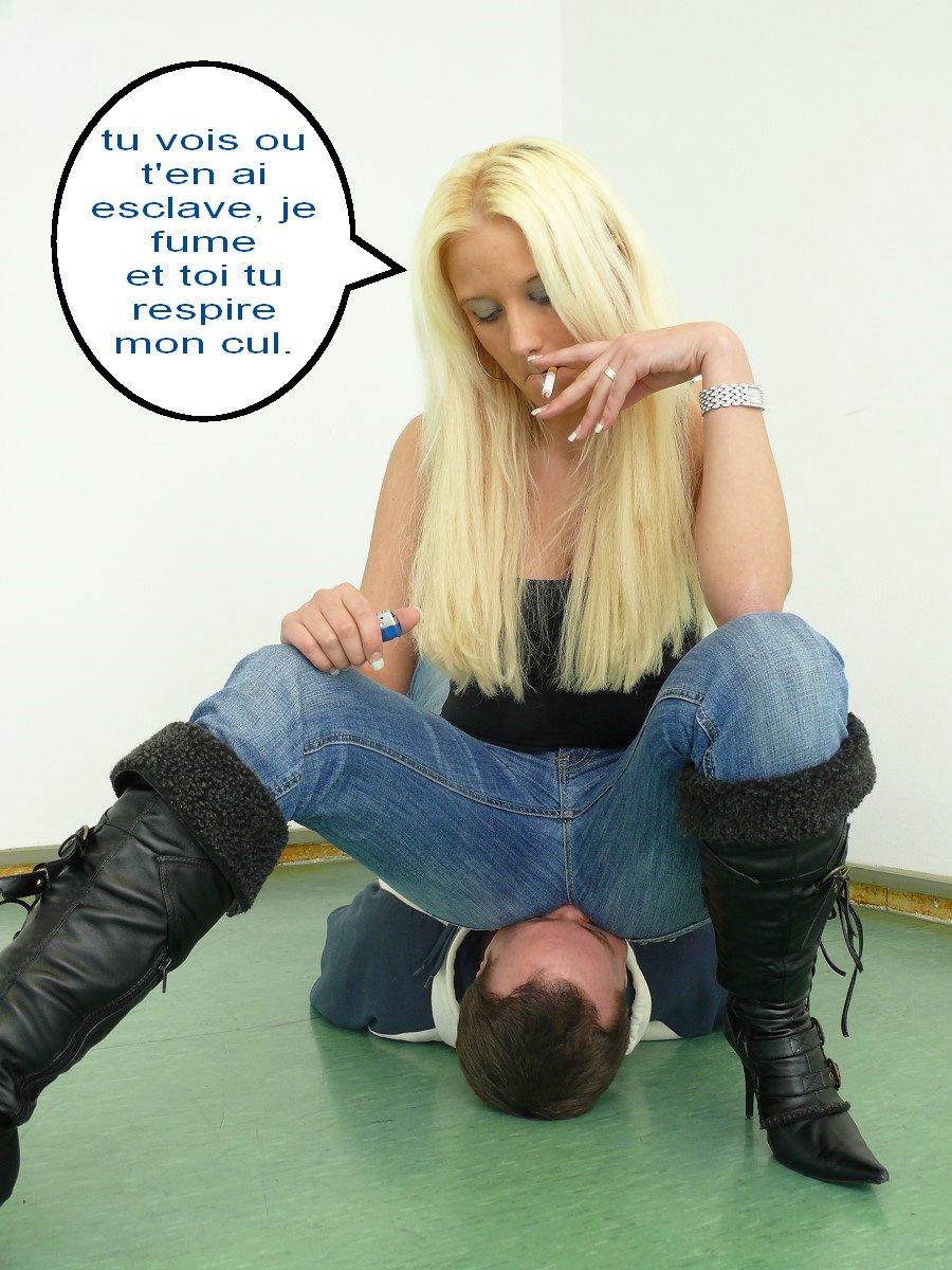 femmes dominatrices leche cul salope